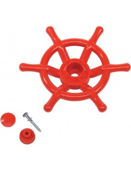 Steering Wheel Boat RED